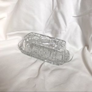 Other - Glass Butter Dish